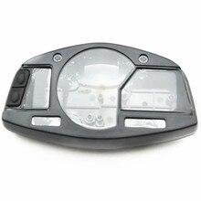 Black Speedo Meter Gauge Tachometer Clock Case Cover for 2007-2012 Honda CBR 600 RR Motorcycle