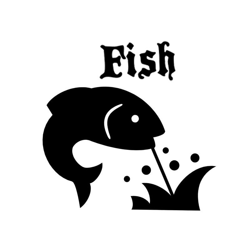 35 см автостайлинг с изображением рыб животных автомобильные аксессуары наклейки Переводные картинки