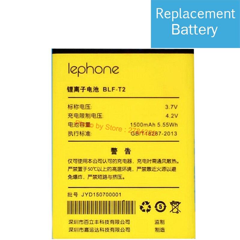 100% 1500 мАч BLF-T2 Аккумулятор для Lephone T2/V T2 +/V W2 + BLF-T2 BLF T2