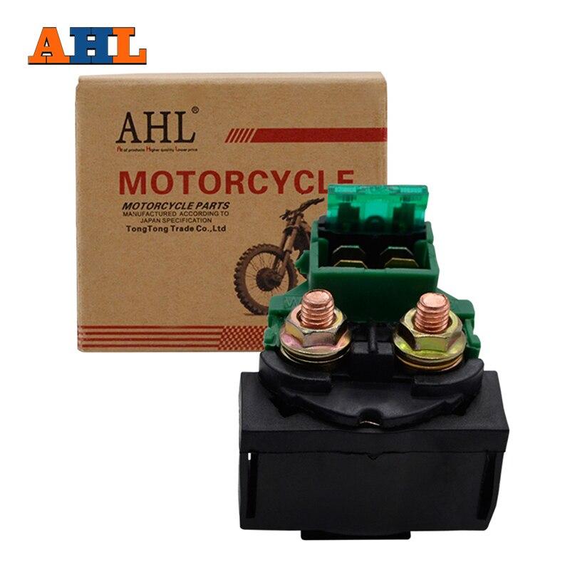 Relé solenoide de arranque de motocicleta AHL para Honda CB500 CX650 CB1000 83 CB700SC NIGHTHAWK S 84-86 CB750 CB750F Super Sport 79-83