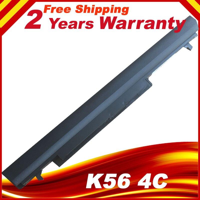 Аккумулятор для ноутбука Asus K56C K56CA K56CB K56CM K56V A56C A56CM A56V Series A31-K56 A32-K56 A41-K56