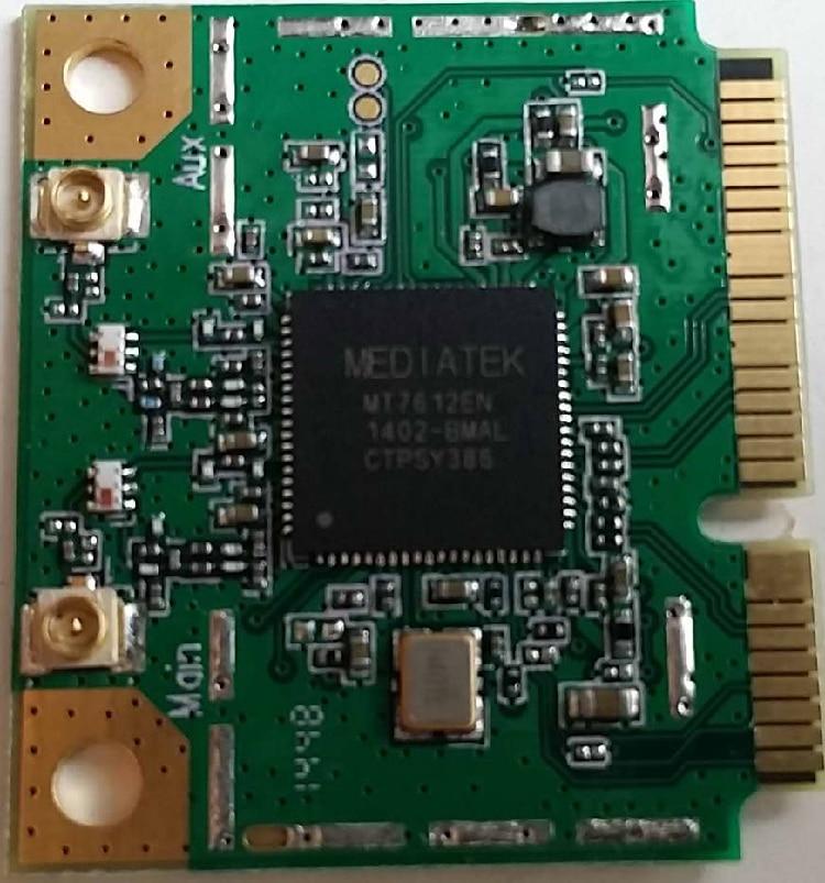 MT7612E, MTK, medio, MINIPCIE, 11AC, módulo WIFI de doble antena 900 Mbps