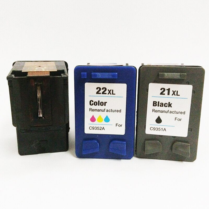 vilaxh 21xl 22xl Compatible Ink Cartridge Replacement for HP 21 22 xl For Deskjet F380 F2180 F2280 F4180 F4100 F300 1320 Printer