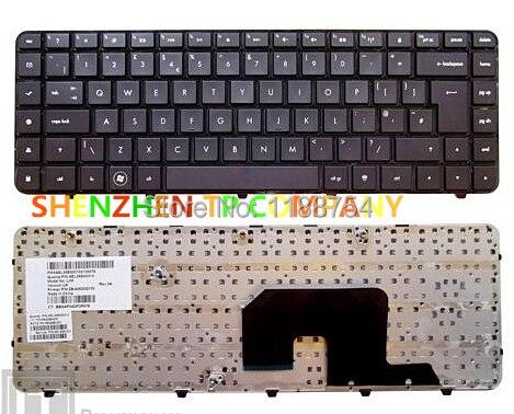 العلامة التجارية لوحة المفاتيح الجديدة ForHP DV6-3000 DV6-3100 DV6-3200 DV6-3300 المملكة المتحدة النسخة أسود اللون كبير مفتاح ENTER