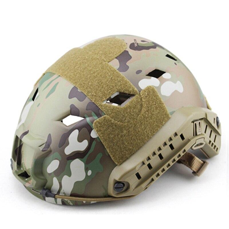 Táctico casco Protector al aire libre Airsoft CS juego Protector de cabeza de Paintball rápido operaciones Core casco de seguridad