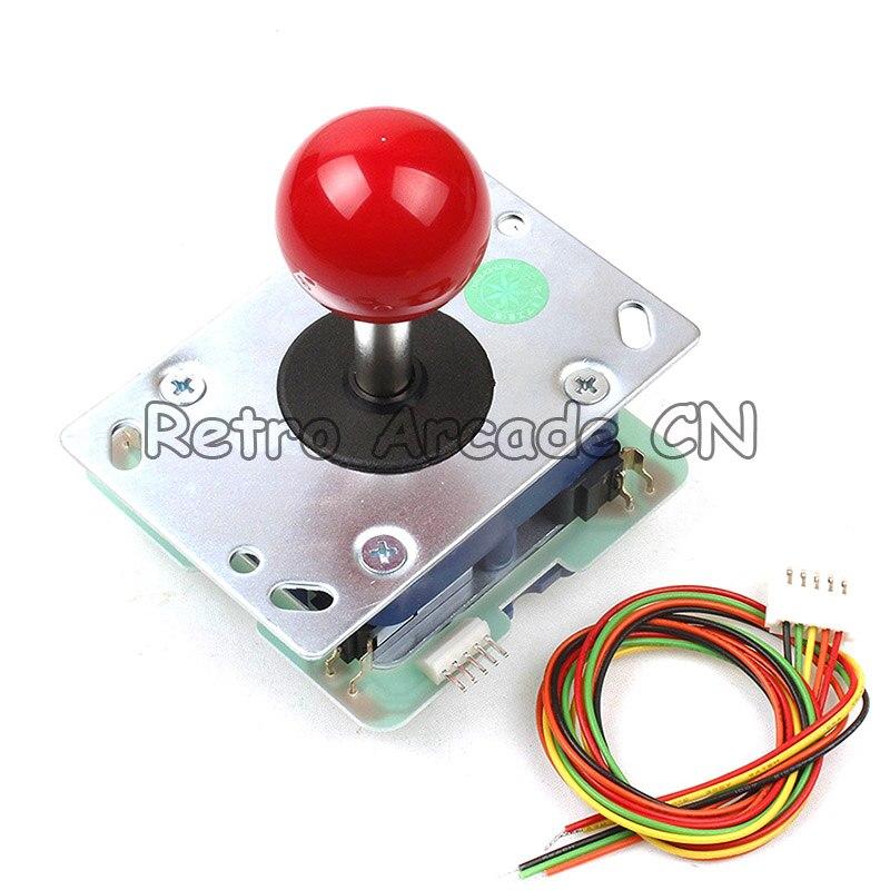 Seimitsu 5 Pin LS-32-02 Arcade Joystick 8 Way Stick For Raspberry Pi Video Game Machine DIY Kit Parts Mame Jamma Game