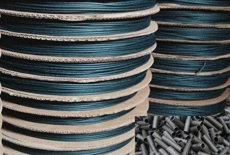 Купить с кэшбэком 10m/lot Environmental Insulation Sleeve Black Heat Shrinkable Tube Nickel Plate Electronic Wire Package Shrink