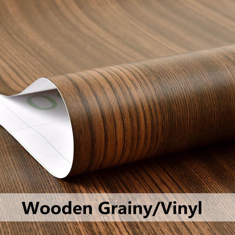 HOHOFILM 1,24x0,5 m vinilo de grano de madera coche pegatina interior muebles película decoración decorativa para el hogar
