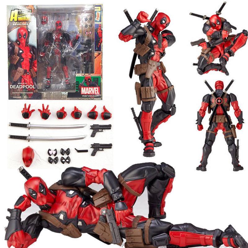 15 cm en caja X-MAN DeadPool BJD figura modelo Juguetes