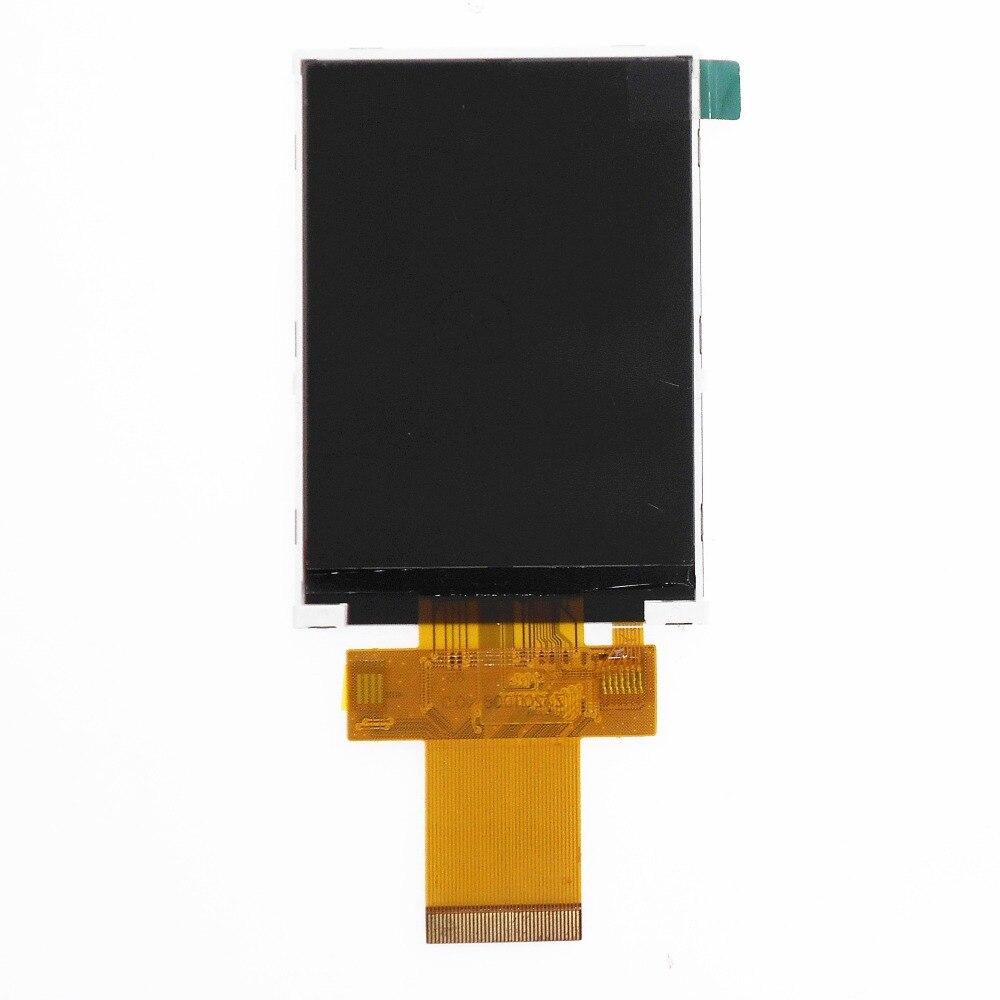 Z320it008 3.2 polegada tft touch lcd amplo ângulo de visão spi 240x320 ili9341 40pin 3-wire 4-wire porta serial 0.5mm