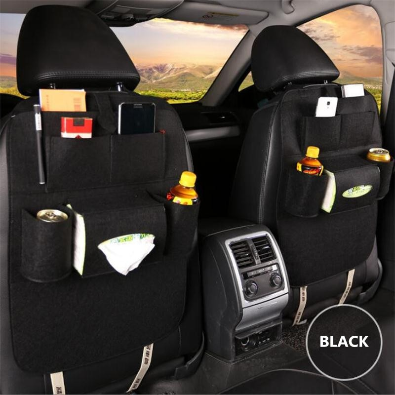 Universal 1PCS Car seat back storage bag For Suzuki SX4 SWIFT Alto Liane Grand Vitara Jimny S-Cross
