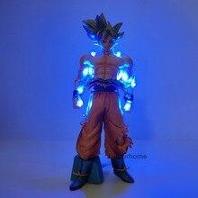 Lampara Dragon Ball Z lampe à Led Goku Ultra Instinct veilleuse Dragon Ball Luminaria Goku dbz lampe de bureau décor pour noël
