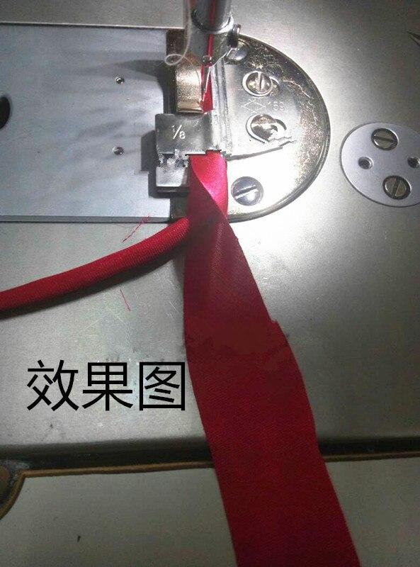 Máquina de coser, extractor de oreja de cajón de giro automático de coche plano, extractor de corazón negro de tubo