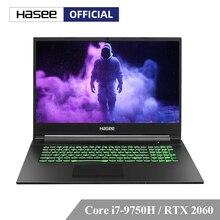 Hasee G8-CT7NK Del Computer Portatile per il Gioco (Intel Core I7-9750H + RTX 2060/16GB di RAM/256G SSD + 1T HDD/17.3 IPS 144Hz 72% NTSC) hasee Notbook