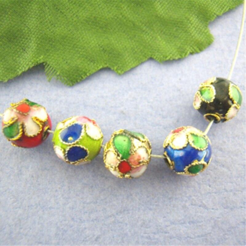 DoreenBeads 50 шт., разделители для шариков в разных цветах, диаметр 8 мм. (B00753), yiwu