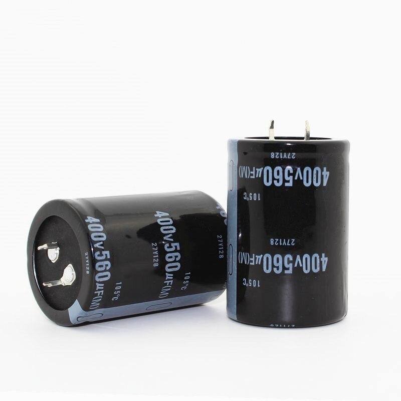 400V560UF 35x50MM condensador electrolítico de aluminio 560uf 400v