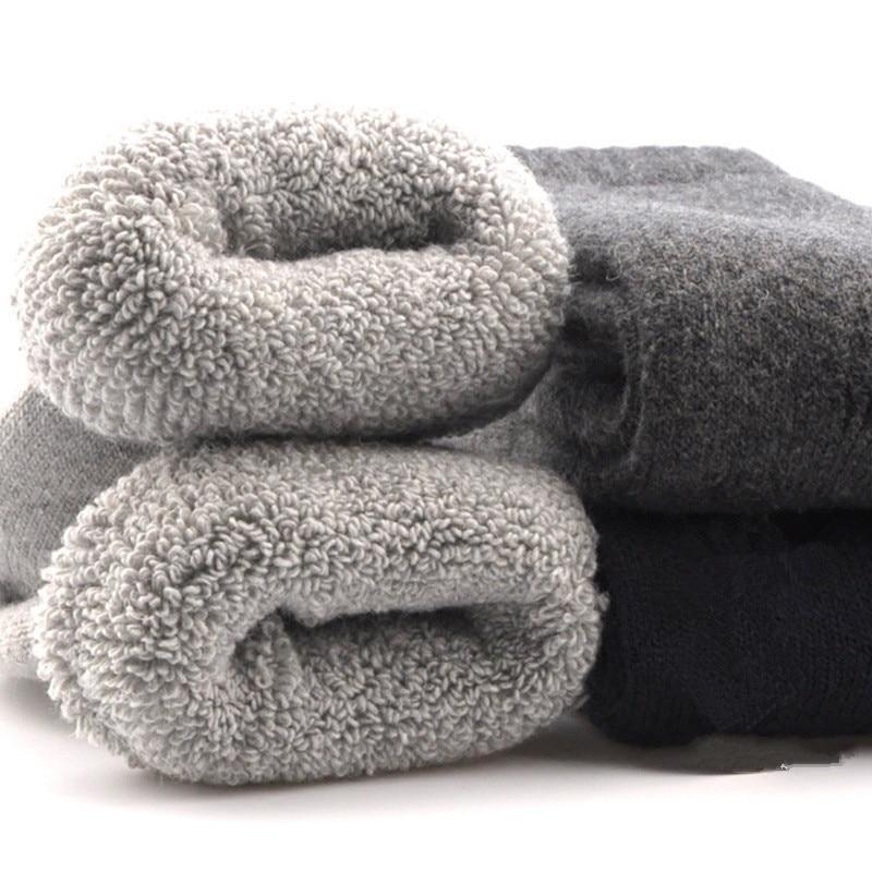Кашемировые носки унисекс, зимние носки, теплые махровые женские носки, однотонные разноцветные зимние носки, толстые хлопковые носки из кр...