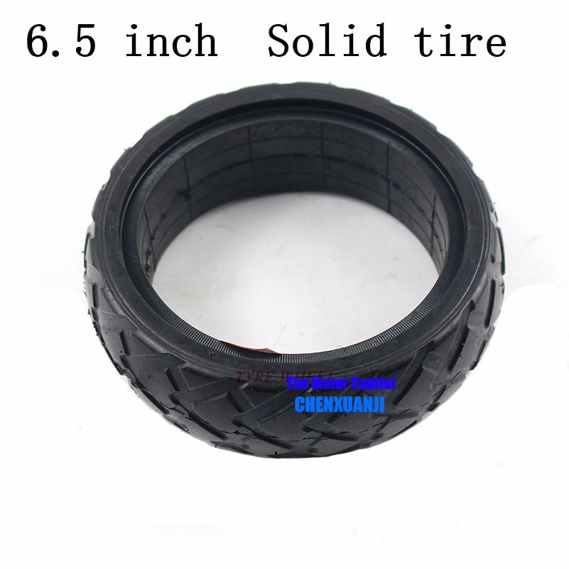 """Neumático sólido de calidad Superior de 6,5 pulgadas para 6,5 """"Hoverboard auto equilibrio Scooter eléctrico no envío gratis"""