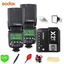 Godox TT685-C/N/S/F/O 2.4G HSS TTL Wireless Speedlite Flash + X2T-C/N/S/F/O Trigger for Canon Nikon Sony Fujifilm Olympus Camera
