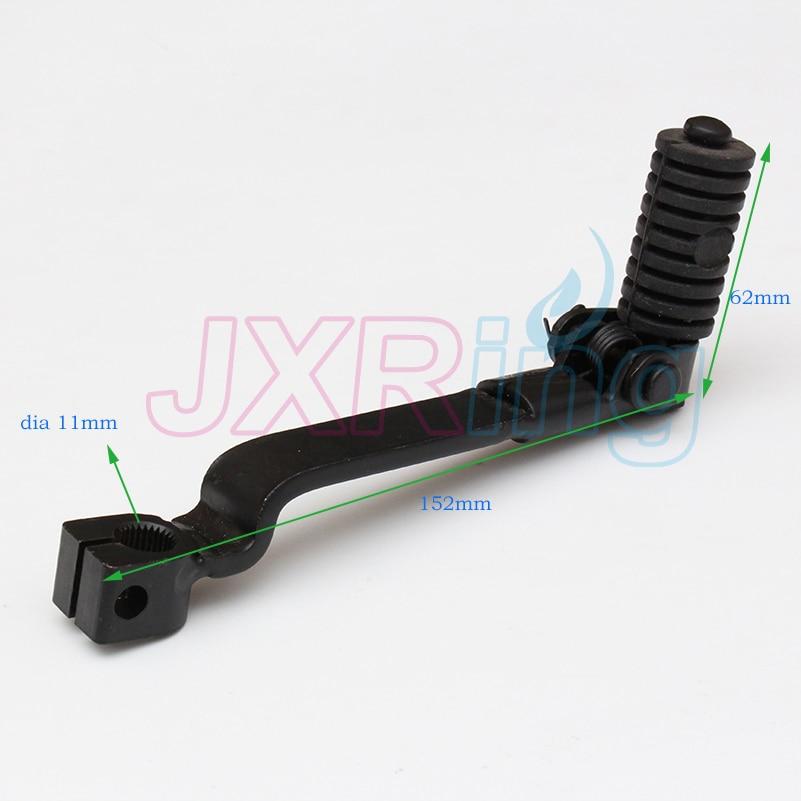 Schwarz aluminium Folding Getriebe Shifter Schalthebel Für 110cc 125cc 140cc 150ccYX Lifan Motor Chinesischen Pit Dirt Bike SSR XR CRF