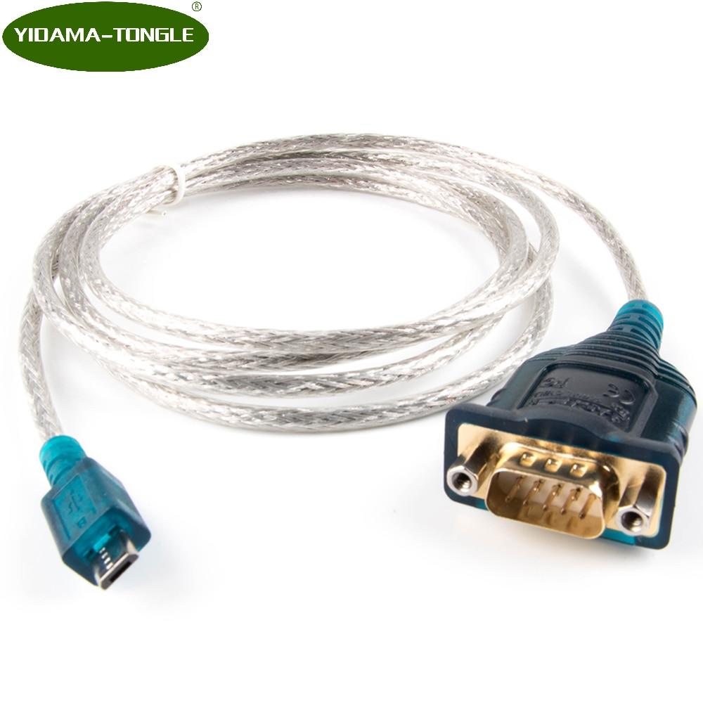 Red de Cable de enrutador Micro USB a RS232 DB9 hombre consola...