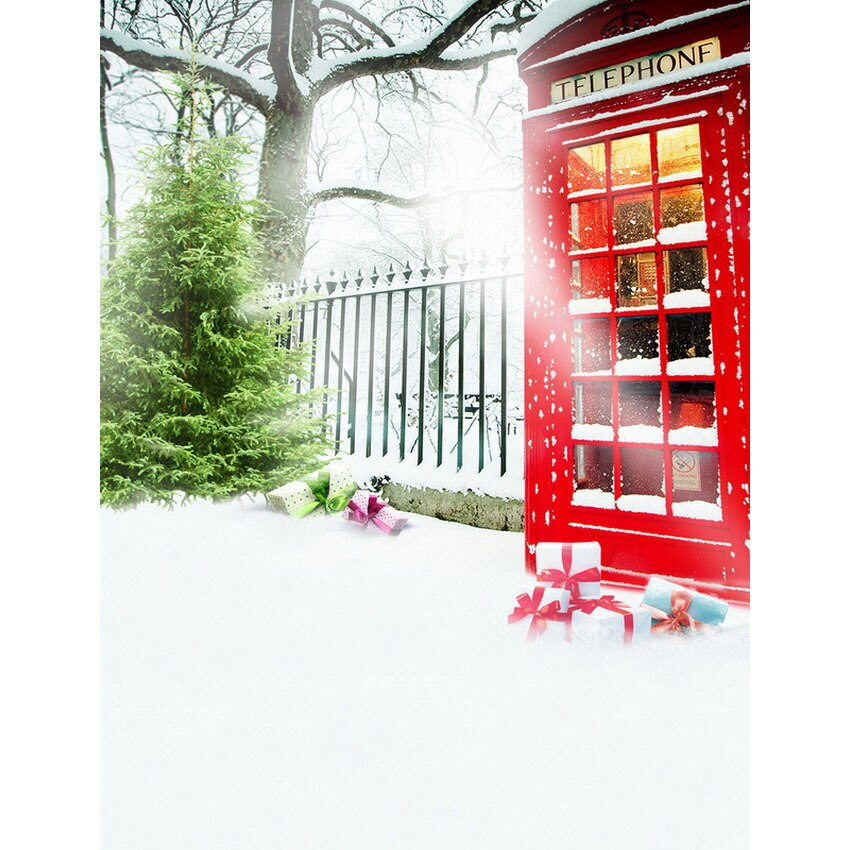 LIFE MAGIC caja para baby shower telón de fondo cabina telefónica Digital para niños estudio de fondo S-2450