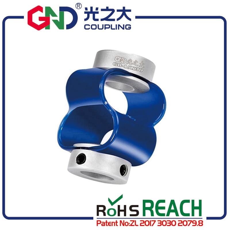 Acoplamiento especial codificador D15mm L31 diámetro 3-8 aleación de aluminio TPU 8 fuentes codificador acoplador flexible para servo motor CNC router