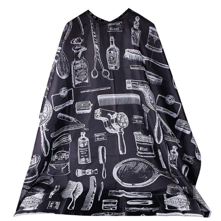 Водостойкая ткань для стрижки волос, модная накидка для парикмахерской, накидки для парикмахеров JAN19