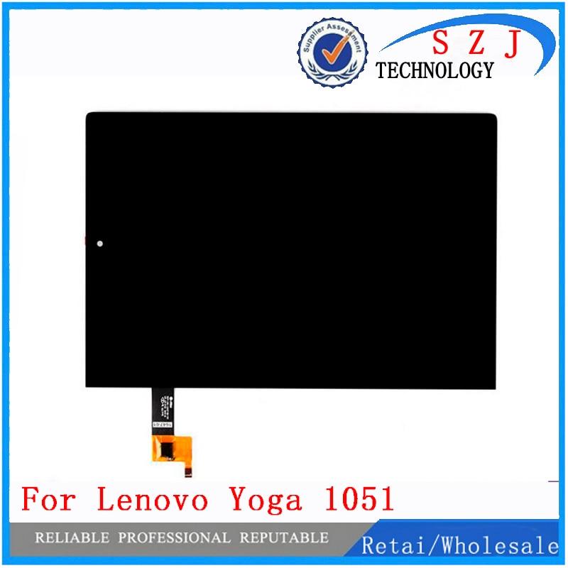Новый 10,1 дюймов для Lenovo Yoga Tablet 2 1051 1051F 1051L ЖК-дисплей монитор + дигитайзер сенсорный экран стеклянная панель Замена