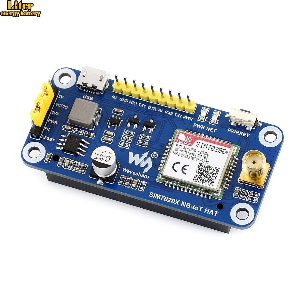 NB-IoT sombrero para Raspberry Pi, basado en SIM7020E, B1/B3/B5/B8/B20/B28 bandas, para Europa, Asia, África, Australia