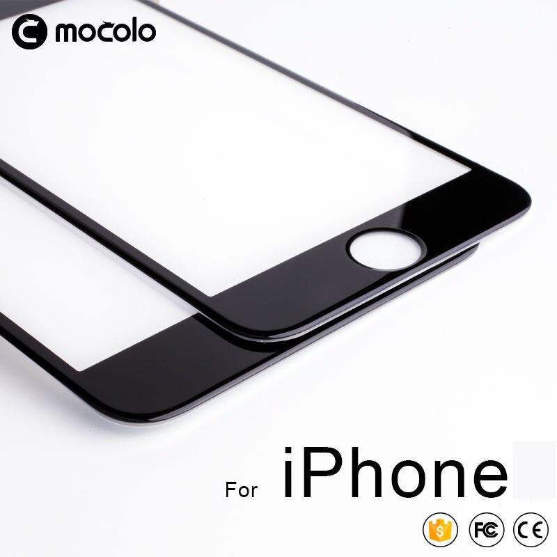 Для iPhone 8 7 6 6s SE 2020 защита экрана Mocolo полное склеенное 9H 3D закаленное стекло для iPhone X Xs Max XR защита экрана