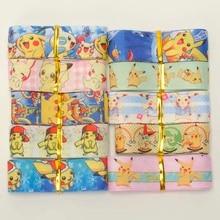 Mix10-rubans gros-grain imprimés style   Ruban catoon pikachu aléatoire, 22/25mm, style 1Y