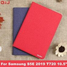 Housse pour tablette étui pour samsung Galaxy Tab S5E 2019 SM-T720 T725 nouveau Galaxy tab S5E 10.5