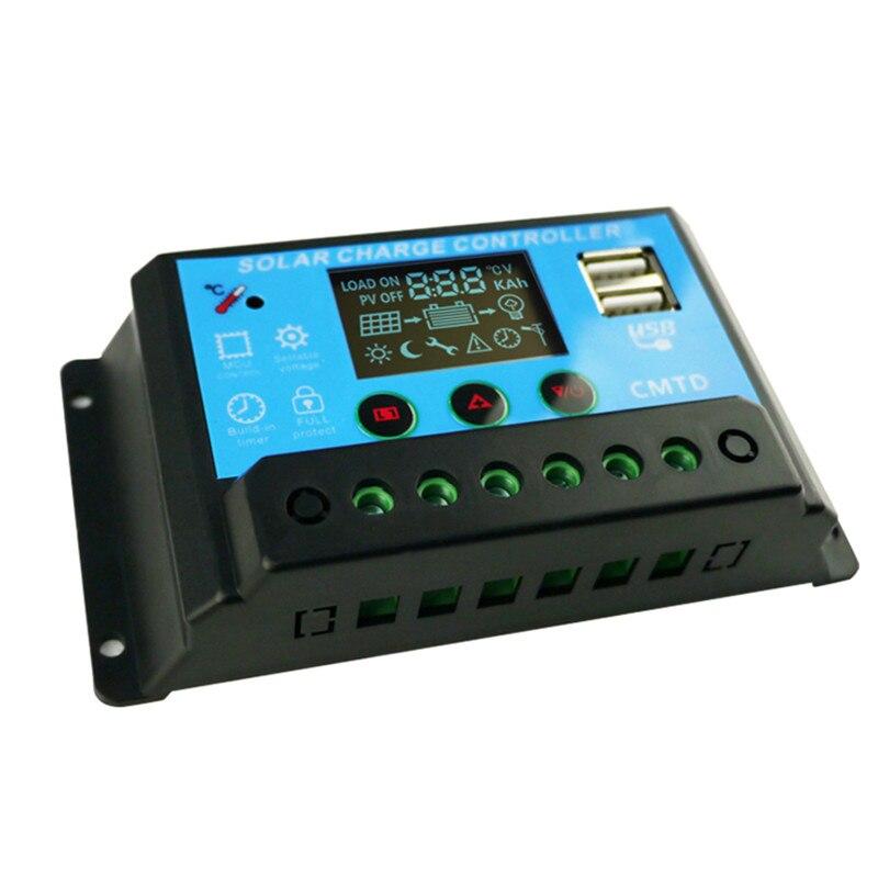 Série 11.1 V bateria de lítio 10A 3 controlador solar controlador solar da lâmpada de rua controle de Luz + tempo controlado