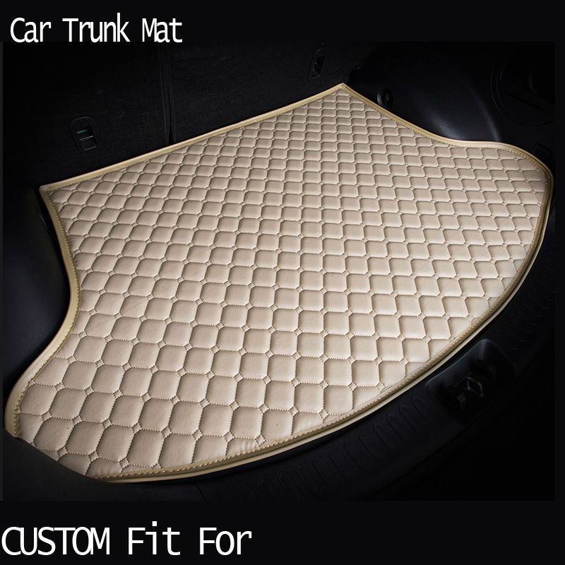free shipping Custom fit car trunk mat for Infiniti EX25 FX35/45/50 G35/37 Q70L QX80 3D carpet cargo liner travel non-slip