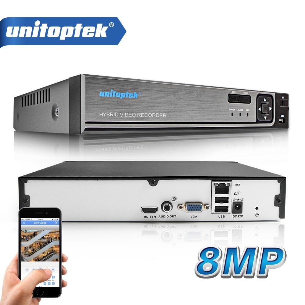 32 canales 1080P 25CH 5M 8MP 4K CCTV NVR H.265/H.264 detección de movimiento CCTV Video grabador FTP ONVIF para sistema de seguridad de cámara IP