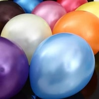 50pieceslot 12 2 8 g round pearl latex balloons mixed color balloons high quality party balloons