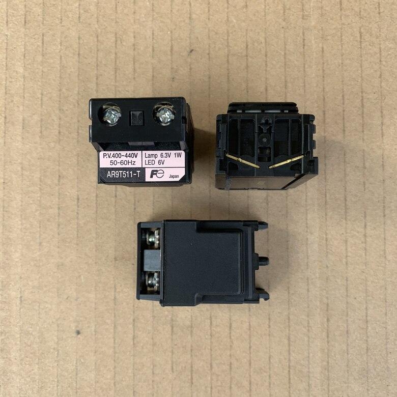 الأصلي جديد 100% زر التبديل مؤشر مصباح محول وحدة AR9T511-T AC400-440V
