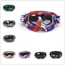 Evomosa lunettes de Motocross pour moto   Lunettes universelles Anti-distorsion, lunettes Anti-vent et Anti-poussière, lunettes MX, lentille transparente