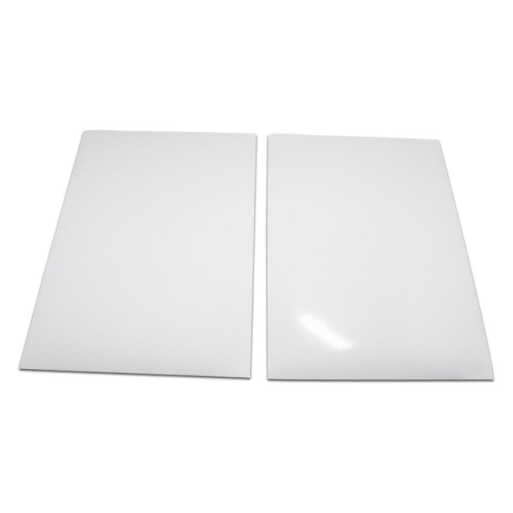30 unids/lote 21*29,7 cm A4 mate brillante PP sintético auto impresora pegatina adhesiva papel autoadhesivo Oficina suministro impresión pegatina
