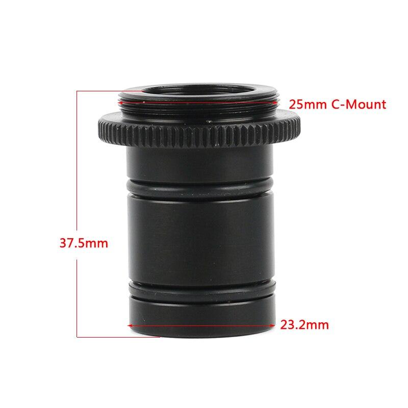 CMOS CCD USB HDMI промышленный адаптер для видеокамеры электронный окуляр микроскоп 23,2 мм до C крепление для биологического микроскопа
