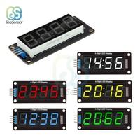 TM1637 0.56 0.56 Inch 4-Digit Digital Clock LED Display Tube 7 Segments LED Clock Double Dots Module For Arduino