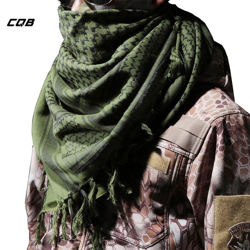 Cqb esportes ao ar livre tático acampamento militar masculino feminino cachecol para ciclismo caminhadas à prova de vento engrossar máscara cachecol para a cabeça ou pescoço