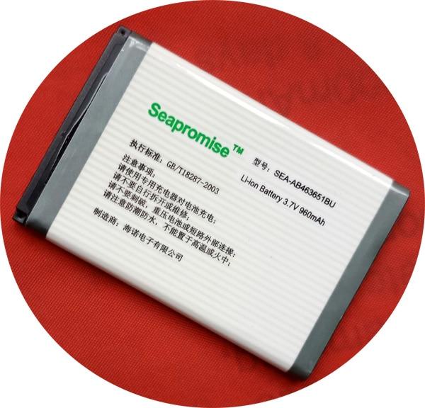 Venta al por mayor 10 Uds batería AB463651BU AB463651BC para samsung W559 F400 S5260 J800 L700 GT-C3510 S3650 S3830 S5600 S5603 S7220