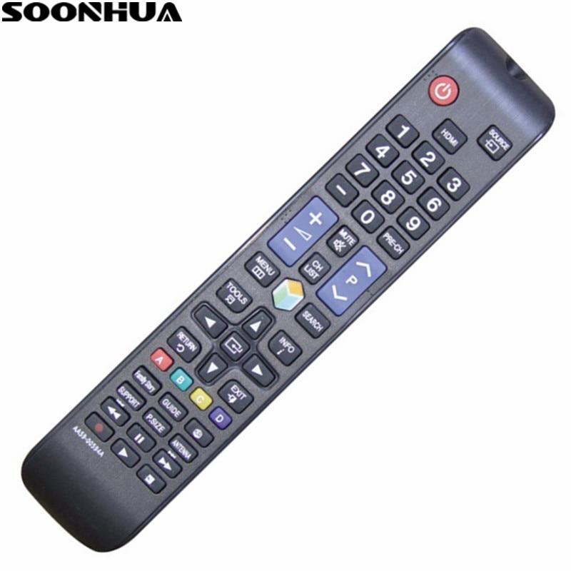 SOONHUA Универсальный сменный умный пульт дистанционного управления для Samsung Smart Digital TV HDTV Control LED LCD UN32EH4500 UN46ES6100F