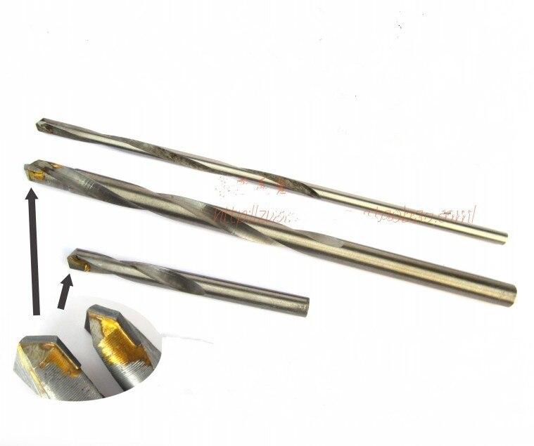 Taladro de carburo de 5 uds 12x150mm, acero inoxidable, taladro para baldosas cerámicas, taladro para cemento