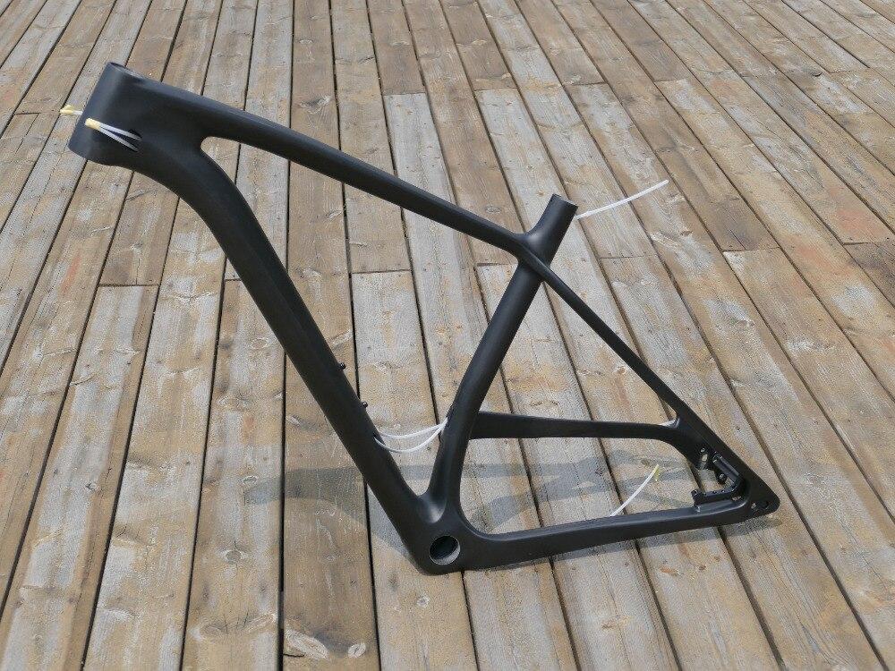 """2019 """"Marco de bicicleta de freno de disco de carbono completo Toray bicicleta de carbono bicicleta de bicicleta 29ER Plus boost Mountain Bike MTB marco 19"""""""