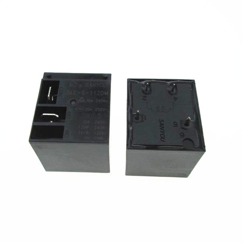 Nuevo calentador de agua aire acondicionado 12V 12V relé de SLC-S-112DM SLCS112DM 12V DC12V 12VDC 30A 250VAC 4PIN