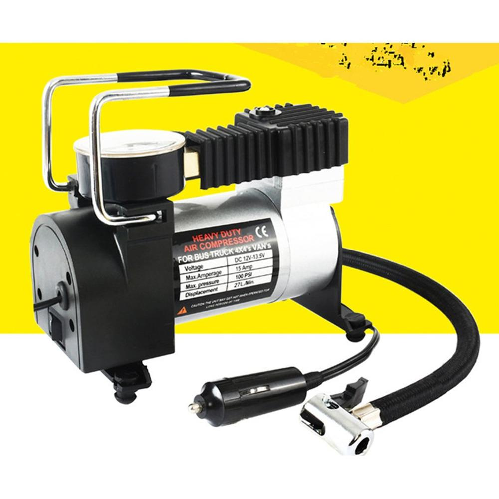 Nueva bomba de Inflador de neumáticos de compresor de aire eléctrico portátil de 12V para motocicleta, bomba de inflado de neumáticos B, diseño de coche