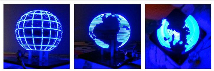 Сферический светодиодный светильник 56 часы от первого лица для самостоятельной